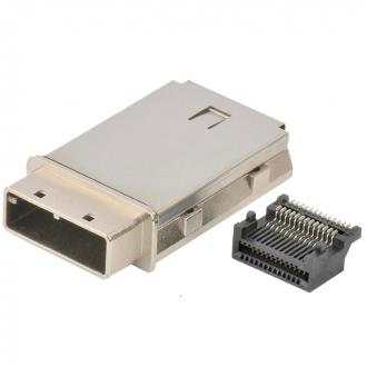 Mini SAS 4x shell&rece